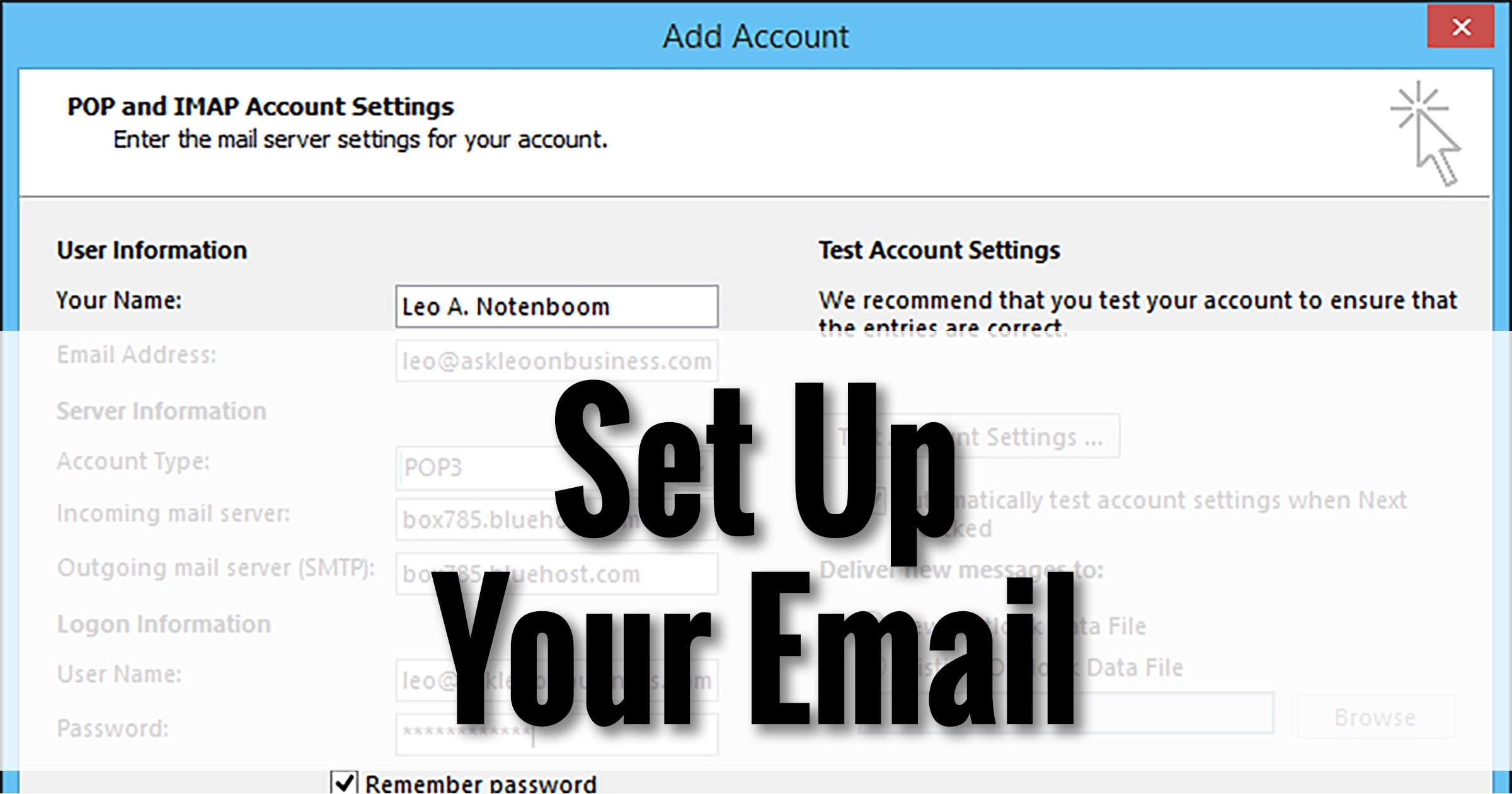 Set Up Your Email