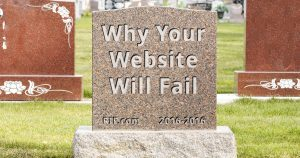 Why Your Website Will Fail