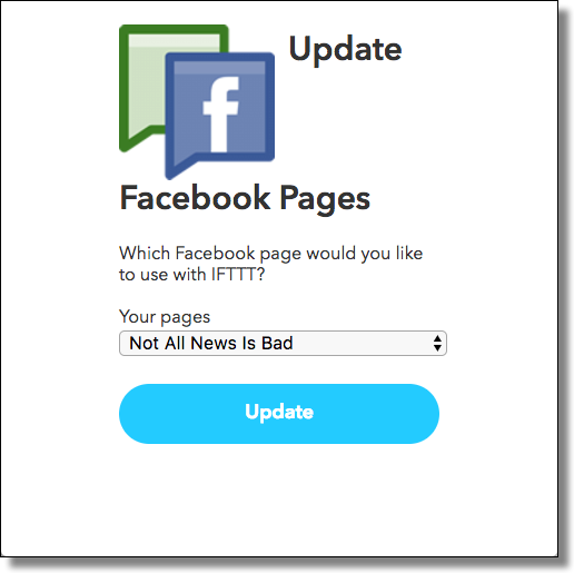 IFTTT: Page Choice